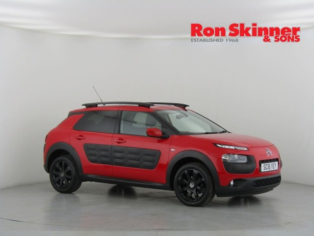 View our 2016 16 CITROEN C4 CACTUS 1.2 PURETECH FLAIR S/S 5d 109 BHP