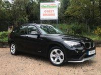 USED 2015 15 BMW X1 2.0 XDRIVE18D SE 5dr Parking Sensors, 1 Owner, FSH
