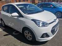 USED 2016 16 HYUNDAI I10 1.0 SE 5d 65 BHP ONLY 7632 MILES FROM NEW! CHEAP TO RUN. LOW CO2 EMISSIONS, ONLY £20 ROAD TAX,EXCELLENT FUEL ECONOMY! GOOD SPECIFICATION INCLUDING, RADIO CD, CENTRAL LOCKING AND FRONT ELECTRIC WINDOWS. MEETS LARGE CITY EMISSION STANDARDS