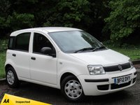 USED 2012 12 FIAT PANDA 1.2 ACTIVE 5STR 5d 69 BHP LOW MILEAGE AND LOW RUNNING COSTS