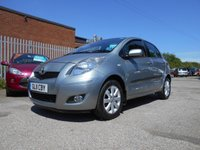 USED 2011 11 TOYOTA YARIS 1.0 T SPIRIT VVT-I 5d 68 BHP 1 OWNER 19,000 MILES