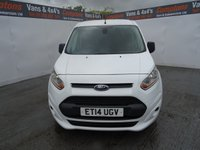 USED 2014 FORD TRANSIT CONNECT 1.6 200 TREND P/V 1d 74 BHP FORD TRANSIT CONNECT TREND WITH AIR CON COLOUR CODED BUMPERS