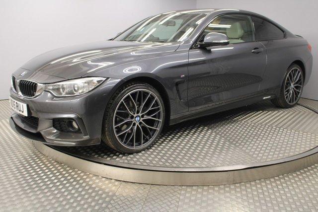 USED 2015 15 BMW 4 SERIES 2.0 420D XDRIVE M SPORT 2d AUTO 188 BHP