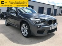 USED 2013 63 BMW X1 2.0 XDRIVE18D M SPORT 5d 141 BHP