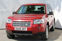 USED 2008 08 LAND ROVER FREELANDER 2.2 TD4 GS 5d 159 BHP GREAT FREELANDER IN RIMINI RED METALLIC WITH FULL SERVICE HISTORY, WITH THE CAMBELT SERVICE BEEN COMPLETED