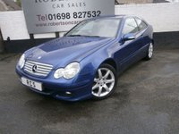 USED 2007 07 MERCEDES-BENZ C CLASS C200 CDI SE SPORTS 3dr AUTO  VALUE DIESEL MERCEDES BENZ +++ MOT MAY 2020 +++