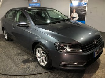 2013 VOLKSWAGEN PASSAT 2.0 S TDI BLUEMOTION TECHNOLOGY 4DOOR 139 BHP £6250.00