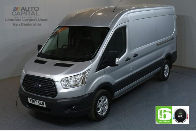 2017 67 FORD TRANSIT 2.0 350 L3 H2 130 BHP TREND LWB M/ROOF AIR CON EURO 6 AIR CONDITIONING EURO 6 TREND
