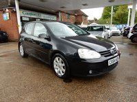 USED 2004 54 VOLKSWAGEN GOLF 2.0 GT TDI 5d 138 BHP PART EX TO CLEAR,MOT UNTIL NOV 2019,TWO KEYS,
