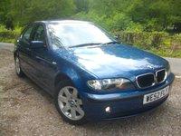 USED 2002 52 BMW 3 SERIES 2.0 318I SE 4d 141 BHP