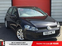 USED 2013 63 VOLKSWAGEN GOLF 1.4 SE TSI BLUEMOTION TECHNOLOGY DSG 5d AUTO 120 BHP Rear Spoiler! Bluetooth!