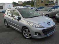 2012 PEUGEOT 207 1.6 HDI SW ALLURE 5d 92 BHP £4595.00
