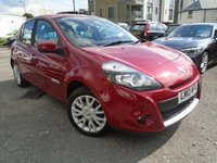 USED 2010 10 RENAULT CLIO 1.1 DYNAMIQUE TOMTOM TCE 5d 100 BHP RECENT SERVICE+NEW MOT