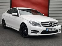 USED 2015 15 MERCEDES-BENZ C CLASS 1.6 C180 AMG SPORT EDITION 2d 154 BHP