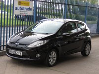 2009 FORD FIESTA 1.2 ZETEC 3d Air con Bluetooth Alloys £4000.00