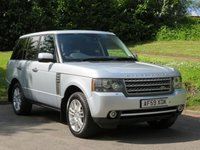 USED 2009 59 LAND ROVER RANGE ROVER 3.6 TDV8 VOGUE SE 5d AUTO 271 BHP FULL HISTORY & LOADS OF SPEC
