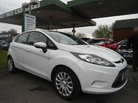 USED 2012 12 FORD FIESTA 1.2 EDGE 5d 59 BHP 5 SERVICE STAMPS