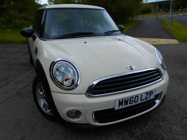 2011 60 MINI HATCH ONE 1.6 ONE D 3d 90 BHP ** DIESEL, £0  ROAD TAX , 74 MPG , ONE PREVIOUS OWNER , FANTASTIC DRIVING CAR **