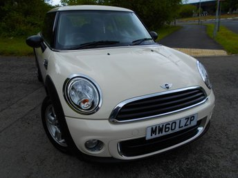2011 MINI HATCH ONE 1.6 ONE D 3d 90 BHP ** DIESEL, £0  ROAD TAX , 74 MPG , ONE PREVIOUS OWNER , FANTASTIC DRIVING CAR ** £3995.00
