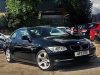 2011 BMW 3 SERIES 2.0 320D SE 2d 181 BHP £5275.00