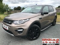 USED 2015 15 LAND ROVER DISCOVERY SPORT 2.2 SD4 HSE 5d AUTO 190 BHP 7 SEATER PAN ROOF SAT NAV SIDE STEPS 20 ALLOYS ONE OWNER FSH 7 SEATER. PANORAMIC SUNROOF. SATELLITE NAVIGATION. SIDE STEPS. 20 INCH BLACK ALLOYS. STUNNING BROWN MET WITH FULL BEIGE LEATHER TRIM. ELECTRIC HEATED SEATS. CRUISE CONTROL. ELECTRIC TAILGATE. COLOUR CODED TRIMS. PRIVACY GLASS. PARKING SENSORS. REVERSING CAMERA. BLUETOOTH PREP. CLIMATE CONTROL INCLUDING AIR CON. MULTIMEDIA SYSTEM. R/CD/DAB RADIO. MFSW. MOT 04/20. ONE OWNER FROM NEW. FULL SERVICE HISTORY. PRESTIGE SUV CENTRE - LS24 8EJ. TEL 01937 849492 OPTION 1
