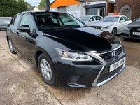 2016 LEXUS CT 1.8 200H S 5d AUTO 134 BHP £15950.00