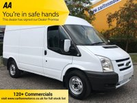 USED 2010 60 FORD TRANSIT T350 MWB MED ROOF [ ELECTRIC ] VAN LOW MILEAGE