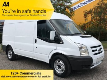 2010 FORD TRANSIT T350 MWB MED ROOF [ ELECTRIC ] VAN LOW MILEAGE  £7950.00