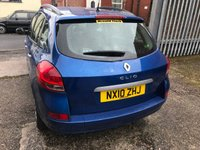 USED 2010 10 RENAULT CLIO 1.1 DYNAMIQUE TCE 5d 100 BHP