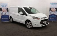 2016 FORD TRANSIT CONNECT 1.6 200 LIMITED  115 BHP Air Con, Bluetooth, Low Mileage (38,346) One Owner,Cruise Control £9780.00