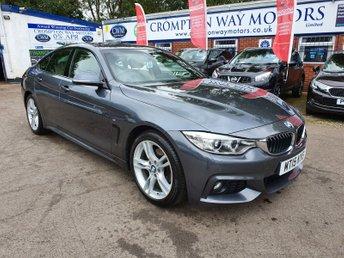 2015 BMW 4 SERIES 2.0 420D M SPORT GRAN COUPE 4d 188 BHP £17495.00