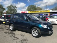 2013 SKODA YETI 1.2 S TSI DSG 5d AUTO 103 BHP IN BLUE WITH ONLY 54000 MILES IN IMMACULATE CONDITION. £6999.00