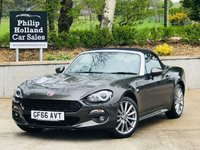USED 2016 66 FIAT 124 1.4 SPIDER MULTIAIR LUSSO 2d 139 BHP Full leather / Heated, Sat Nav, Bluetooth, Reverse camera