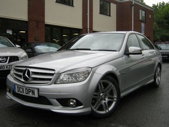 2011 MERCEDES-BENZ C CLASS 1.8 C180 CGI BLUEEFFICIENCY SPORT 4d AUTO 156 BHP