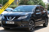 USED 2016 16 NISSAN QASHQAI 1.5 DCI TEKNA 5d 108 BHP SATELLITE NAVIGATION, 360 DEGREE CAMERA + PANORAMIC ROOF