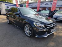 USED 2015 65 MERCEDES-BENZ C CLASS 2.1 C300 H AMG LINE 5d 204 BHP 0%  FINANCE AVAILABLE ON THIS CAR PLEASE CALL 01204 393 181