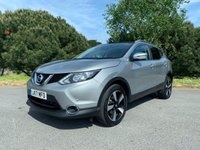 USED 2017 17 NISSAN QASHQAI 1.6 N-CONNECTA DCI XTRONIC 5d AUTO 128 BHP NICE SPEC 1 OWNER AUTOMATIC WITH FSH AND NISSAN WARRANTY