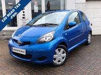 USED 2009 59 TOYOTA AYGO 1.0 BLUE VVT-I 3d 67 BHP SUPPLIED WITH 12 MONTHS MOT, LOVELY CAR TO DRIVE