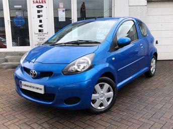 2009 TOYOTA AYGO 1.0 BLUE VVT-I 3d 67 BHP £2775.00
