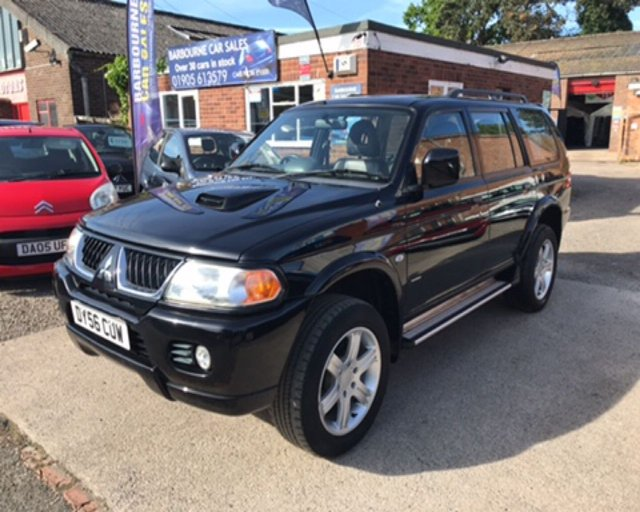 View our MITSUBISHI SHOGUN SPORT