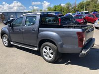 USED 2019 19 ISUZU D-MAX 1.9 UTAH DCB 4 DOOR AUTO 161 BHP IN SPINAL GREY METALLIC WITH LEATHER AND SAT NAV .( DEMONSTRATOR) FREE 3 YEARS SERVICING INCLUDED! APPROVED CARS ARE PLEASED TO OFFER THIS ISUZU D-MAX 1.9 UTAH DOUBLE CAB 4 DOOR AUTO 161 BHP IN SPINAL GREY METALLIC WITH ON 500 MILES ON THE CLOCK. THIS VEHICLE HAS GOT A GREAT SPEC SUCH AS BLUETOOTH, FULL LEATHER AND HEATED SEATS, APPLE CAR PLAY, FOLD IN MIRRORS AND MUCH MORE. THIS IS A PERFECT MIXTURE OF A LIFESTYLE TRUCK AND A WORKHORSE A VEHICLE THAT CAN DO BOTH, IN A BEAUTIFUL CONDITION WITH ON DEMONSTRATOR MILES ON THE CLOCK. DO NOT MISS OUR PLEASE CALL ON 01622871555