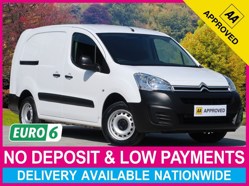 USED 2017 66 CITROEN BERLINGO 1.6 BlueHDI LX EURO 6 LWB L2 750KG VAN 6DR AIR CON EURO 6 AIR CONDITIONING CRUISE CONTROL TWIN SIDE DOORS