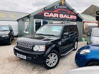 2010 LAND ROVER DISCOVERY 3.0 4 TDV6 HSE 5d AUTO 245 BHP £12995.00