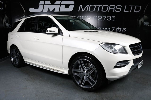 2012 62 MERCEDES-BENZ M CLASS ML250 BLUETEC SPECIAL EDITION AUTO 204 BHP (FINANCE AND WARRANTY)