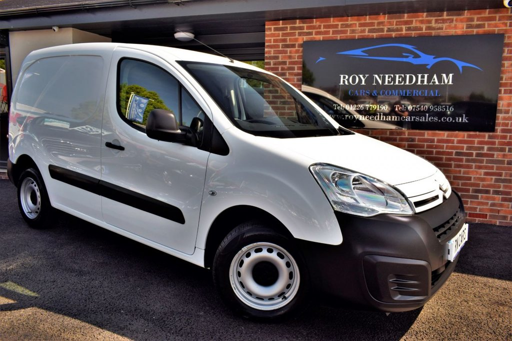 USED 2017 17 CITROEN BERLINGO 1.6 850 X L1 BLUEHDI 5DR 98 BHP *** FULL SERVICE HISTORY - 1 OWNER ***