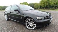 2003 BMW 3 SERIES 1.8 316TI ES 3d 114 BHP £1000.00