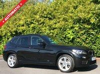 USED 2013 13 BMW X1 2.0 SDRIVE20D M SPORT 5d AUTO 181 BHP