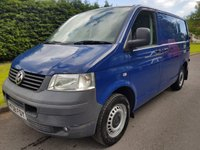 USED 2008 08 VOLKSWAGEN TRANSPORTER 2.5 T30 SWB PBV TDI 1d 129 BHP Excellent Full Service History & Just 1 Owner From new.