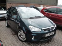 USED 2008 57 FORD C-MAX 2.0 TITANIUM 5d AUTO 145 BHP ANY PART EXCHANGE WELCOME, COUNTRY WIDE DELIVERY ARRANGED, HUGE SPEC