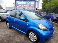 USED 2009 09 TOYOTA AYGO 1.0 BLUE VVT-I 5d 67 BHP BLUETOOTH, LOW INSURANCE, IDEAL 1ST CAR
